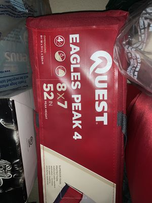 NEW Quest 4 Person Tent Eagles Peak 4 - NEVER OPENED/USED for Sale in Plano, TX