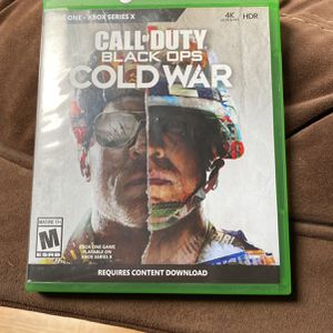 Call Of Duty Cold War Xbox One for Sale in National City, CA