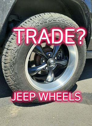 Trade jeep wheels? for Sale in Hollywood, FL