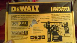"Dewalt xr brushless 20v Max 1"" sds rotary hammer for Sale in Hudson, FL"