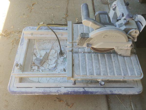 Kobalt wet tile saw