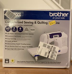New Brother Computerized Sewing and Quilting Machine CS6000i for Sale in Annandale, VA