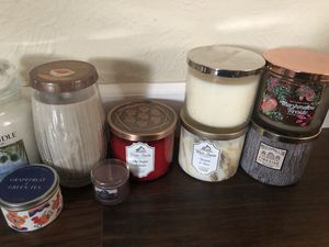 Yankee Candle and Bath and Body Works Candles for Sale in Denver, CO