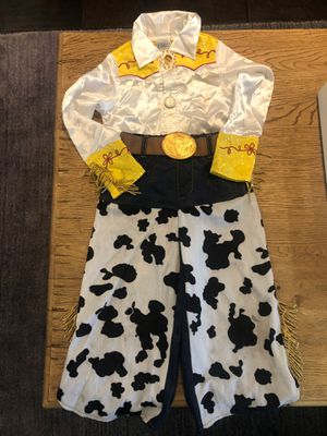 Kids Size XS (4) Disney Pixar Toy Story Jesse Costume for Halloween for Sale in Torrance, CA