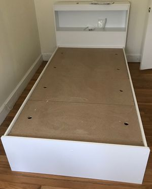 New twin sized platform bed with storage for Sale in Brockton, MA