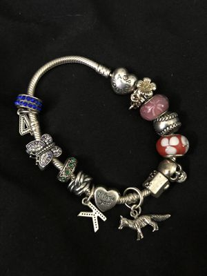 Pandora bracelet and charms for Sale in Livermore, CA