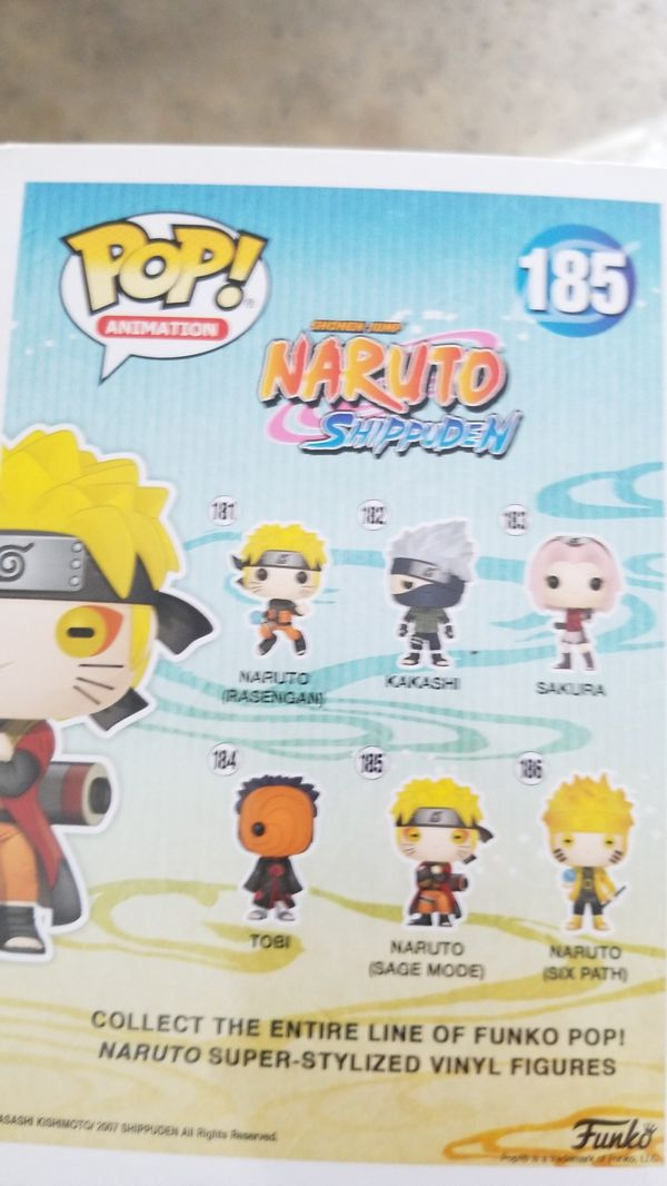 Naruto Sage Mode Pop