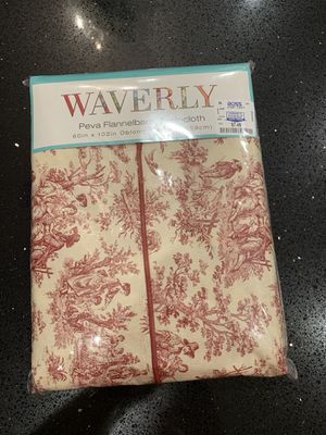 Table cloth measurements in last pic for Sale in Phoenix, AZ