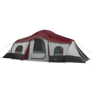 Ozark Trail 10-Person 3-Room Cabin Tent with 2 Side Entrances for Sale in Houston, TX