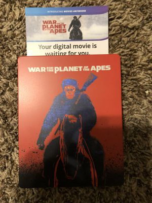 War for the planet of the apes Digital code for Sale in Lewisville, TX
