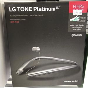 LG Tone Platinum HBS-930 Bluetooth for Sale in Dearborn Heights, MI