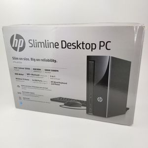 New HP Slimline Desktop computer PC Unopened for Sale in Redlands, CA