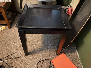 Black side table for Sale in Gridley, CA