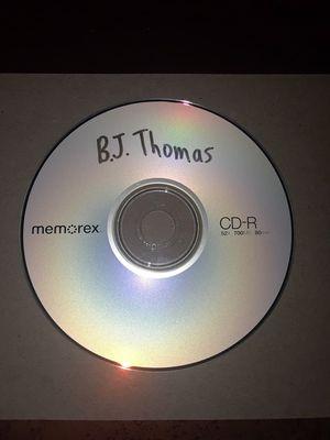 CD Album Music #1 and 2 - B.J. Thomas and Israel Kamakawiwo'ole for Sale in San Antonio, TX