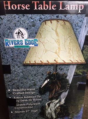 Horse table lamp for Sale in Spanaway, WA