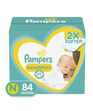 Pampers Swaddlers Newborn Diapers for Sale in Hillsboro, OR
