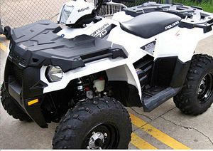 Atv runs great 2014 Polaris Sportsman 4WD/Wheelsss Nice for Sale in Anaheim, CA