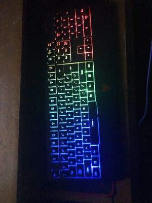 Redimp rgb gaming keyboard for Sale in Truckee, CA
