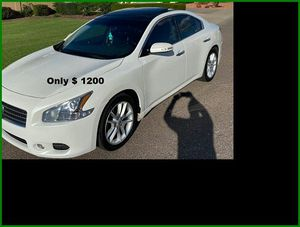 Price$12OO Nissan Maxima for Sale in Harrisburg, PA