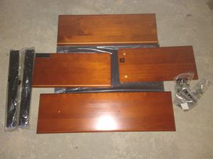 John Louis Home closet organizer draws 2 in mahogany for Sale in Salt Lake City, UT