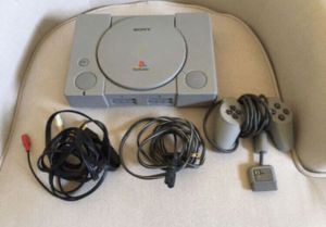 PS1 PlayStation 1 Console w/3 games - Excellent Condition for Sale in Gilbert, AZ