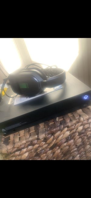 XBOX ONE X with Controller, and warranty for Sale in Bozeman, MT