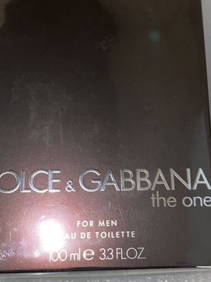 DOLCE&GABBANA Men's The One Eau de Toilette Spray, 3.3 oz for Sale in Riverside, CA