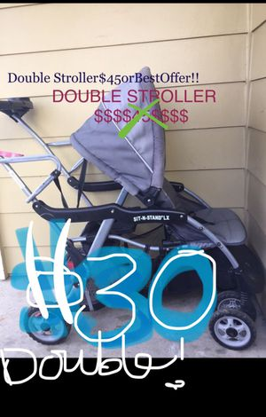 Baby stroller double stroller kids for Sale in Portland, OR
