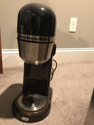 Kitchen Aid single cup coffee maker for Sale in Baltimore, MD