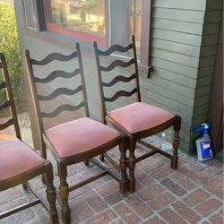 GORGEOUS Vintage Chairs (4) for Sale in Los Angeles,  CA