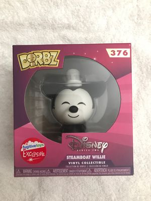 Steamboat willie, dorbz, Funko, Disney collectible, Mickey Mouse for Sale in Walnut, CA