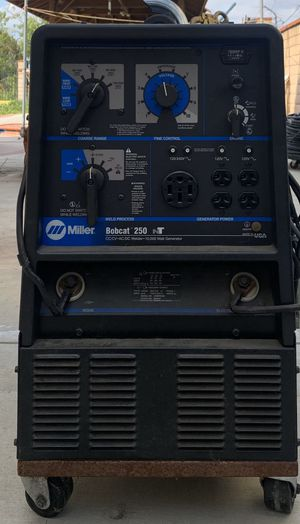 Machine-Miller Bobcat 250 Generator for Sale in Rowland Heights, CA