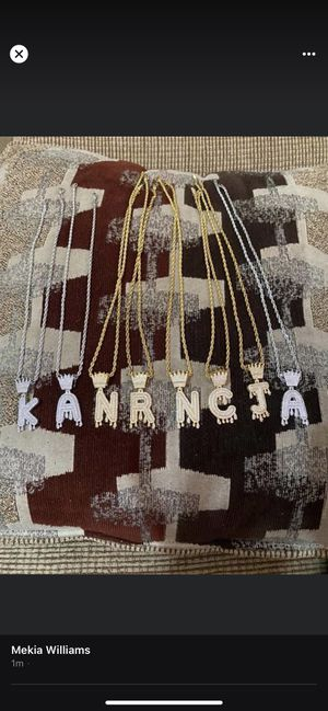 Initial Necklaces for Sale in Kilgore, TX