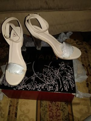 Liliana stomp the yard heels color nude size 11 brand new never been used still in box $30 o best offer for Sale in Mesquite, TX