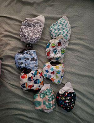 8 newborn diapers for Sale in Glendale, AZ