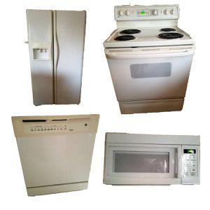 Fridge, dishwasher, microwave, stove for Sale in Manassas, VA