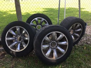 RIMS AND TIRE FOR FORD F-250 for Sale in Homestead, FL