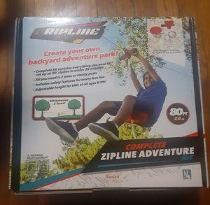 80ft. ZipLine Adventure for Sale in undefined