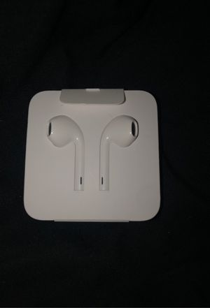Apple head phones W/ adaptor for aux cord for Sale in The Bronx, NY