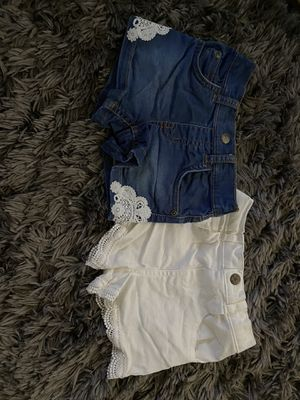 Baby girl jean shorts for Sale in Lynchburg, VA