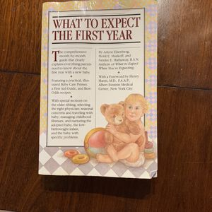 What To Expect The First Year Book for Sale in Virginia Beach, VA
