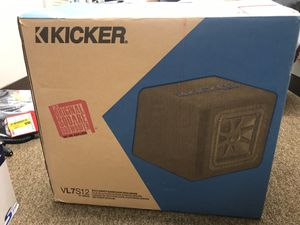 "Kicker VL7S12 Car Audio Solo- Baric L7 Loaded 12"" Subwoofer for Sale in Mount Prospect, IL"