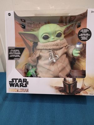 Mandalorian 14in Baby Yoda character doll. for Sale in The Bronx, NY