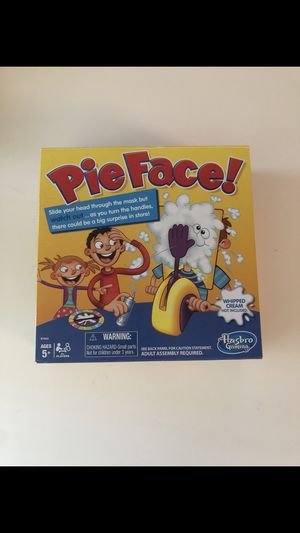 Pie Face Board Game for Sale in Fountain Valley, CA