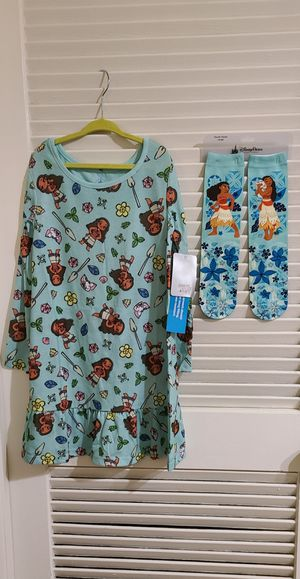 Disney Moana Pijamas and socks for Sale in Anaheim, CA