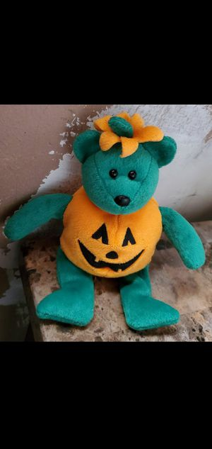 Tricky pumpkin beanie baby for Sale in Fontana, CA