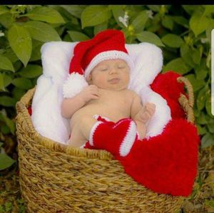 Crochet Baby Boy Christmas Santa Outfit Newborn for Sale in Lyons, GA