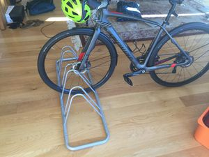 3-Well Floor Bike Rack for Sale in Portland, OR