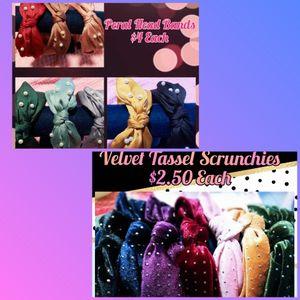 Velvet Scrunchies for Sale in Paramount, CA