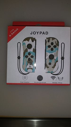 Joycon camouflage controller for Nintendo switch for Sale in Commerce, CA